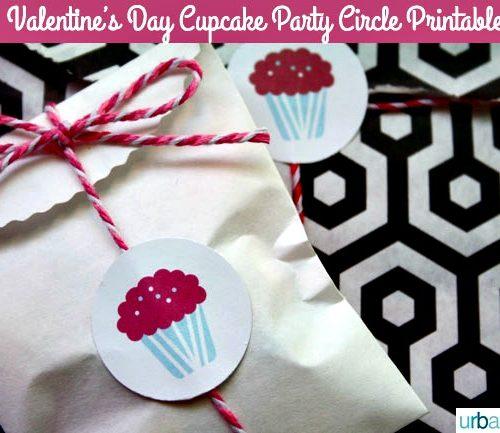 free printable valentine cupcake toppers | TodaysCreativeBlog.net