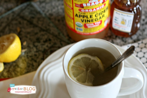 ACV Lemon Honey Water | TodaysCreativeBlog.net