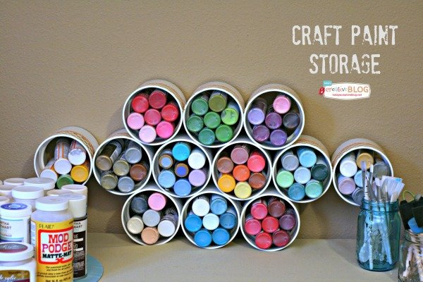 Craft Room Storage Ideas | TodaysCreativeBlog.net