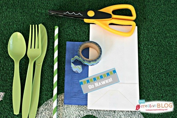 Football Party Ideas | Free printables for your football party. Superbowl party ideas. See more on TodaysCreativelife.com