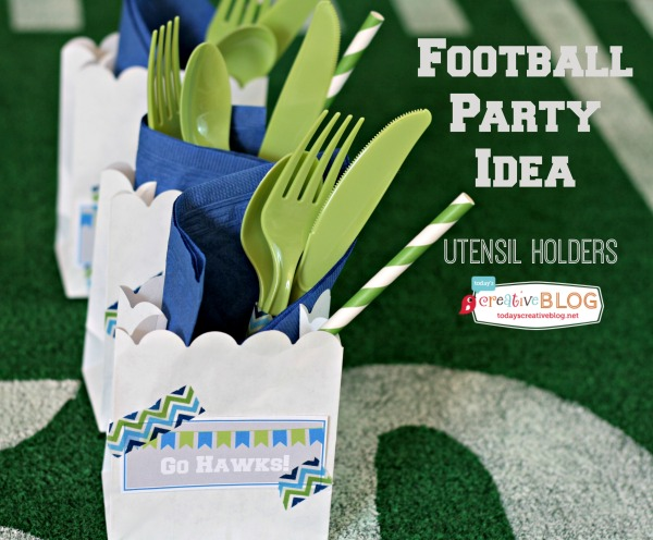Football Party Ideas | TodaysCreativeBlog.net