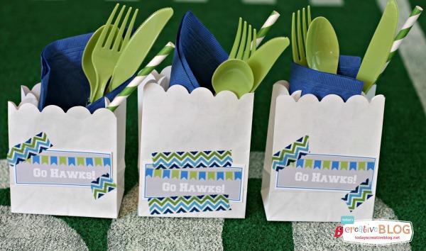 Football Party Ideas | TodaysCreativeBlog.net