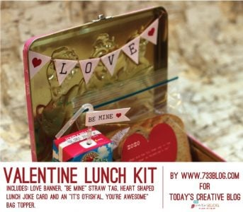 free printable valentine lunch box notes | TodaysCreativeBlog.net