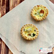 Asparagus Swiss Mini Quiche Recipe | TodaysCreativeBlog.net