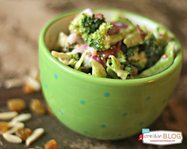 Broccoli Salad Recipe | TodaysCreativeBlog.net