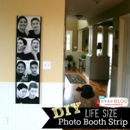 Make a Full Size Photo Booth Photo Strip |TodaysCreativeLife.com