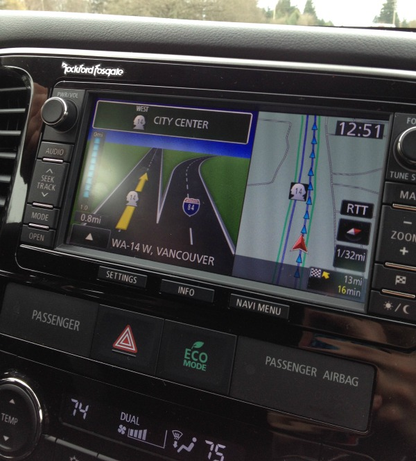 DriveSTI navigation