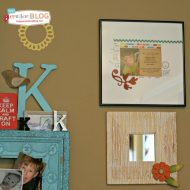 Wood Grain Stencil Craft Projects | TodaysCreativeBlog.net