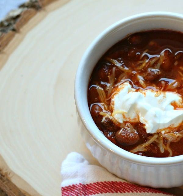 slow cooker chili | TodaysCreativeBlog.net