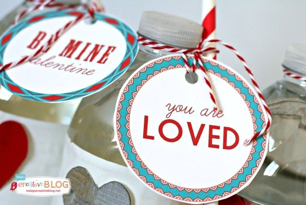 Printable Valentine Tags |Valentines Day Printables make creating fun DIY gift ideas much easier! See more on TodaysCreativeLife.com