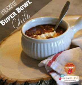 Slow Cooker Chili | TodaysCreativeBlog.net