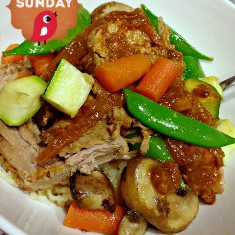 Crockpot Peanut Butter Pork Loin | TodaysCreativeBlog.net