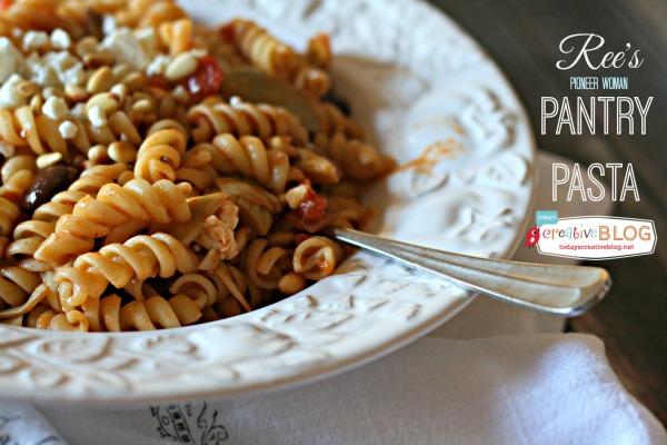 Ree's Pantry Pasta | TodaysCreativeBlog.net