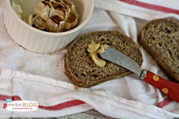 How to Roast Garlic | TodaysCreativeBlog.net