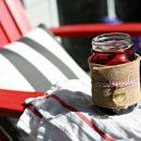 Simple Burgundy Spritzer | TodaysCreativeBlog.net