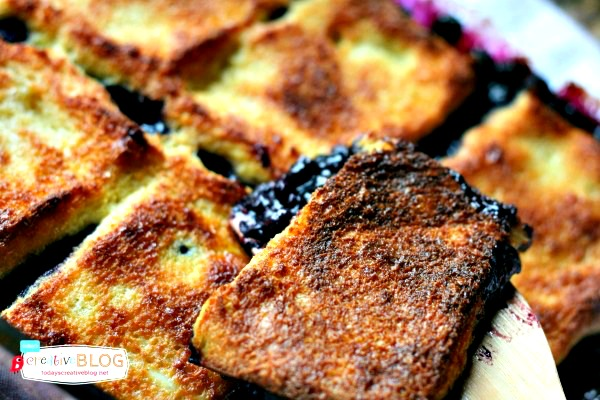 Overnight Blueberry French Toast Casserole