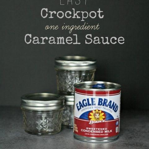Crockpot Caramel Sauce Recipe from TodaysCreativeLife