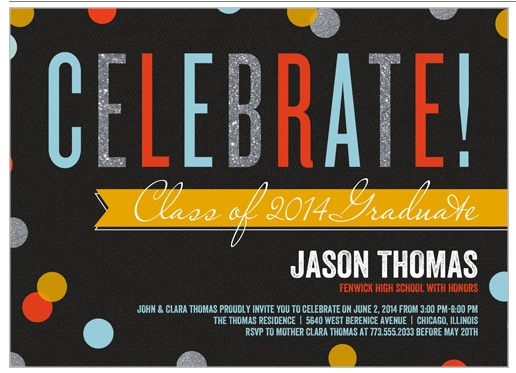 Planning a Grad Party | TodaysCreativeBlog.net