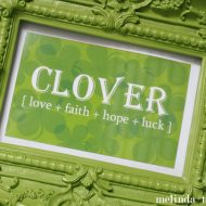 Free Clover Printable St. Patrick's Day
