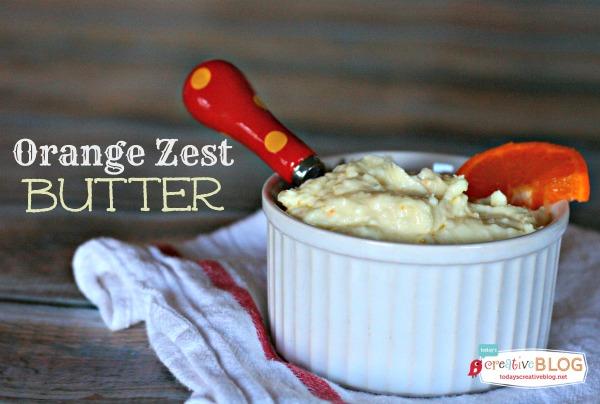 orange zest Butter