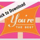 Free Printable Thank you Cards | TodaysCreativeBlog.net