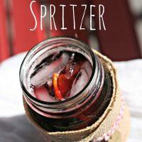 Simple Burgundy Spritzer
