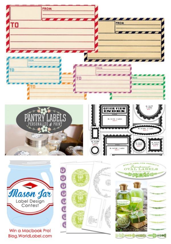 Chalkboard Printable Labels | TodaysCreativeBlog.net