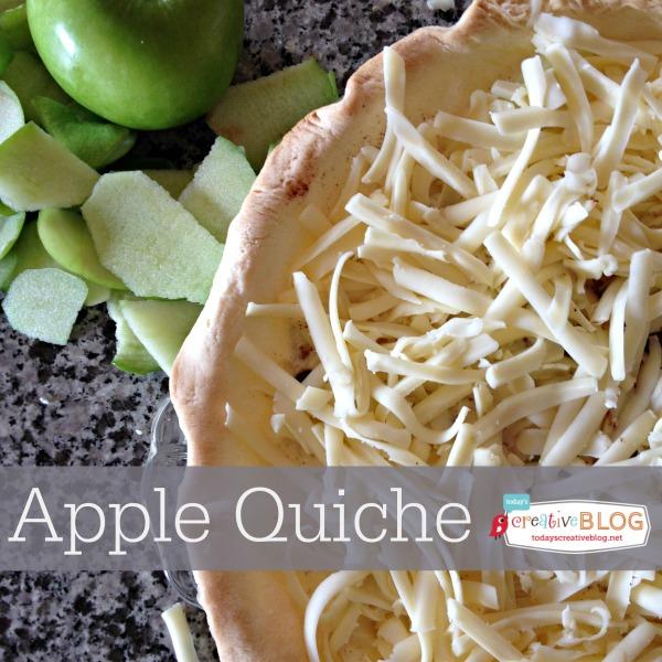 Apple Quiche Recipe | TodaysCreativeBlog.net