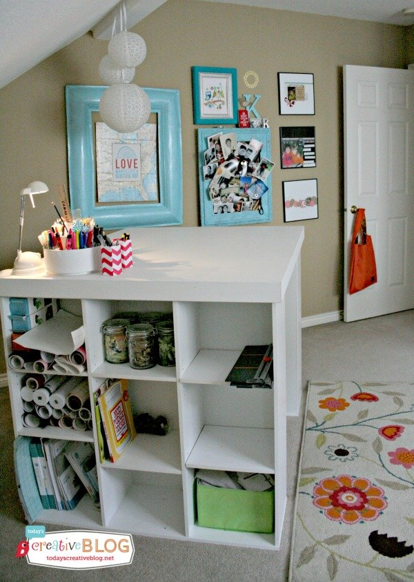 Craft Room Makeover | TodaysCreativeBlog.net