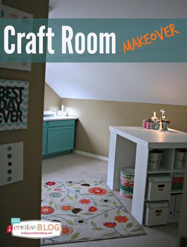 Craft Room Makeover - Create and organize the craft room of your dreams. |Today's Creative Blog