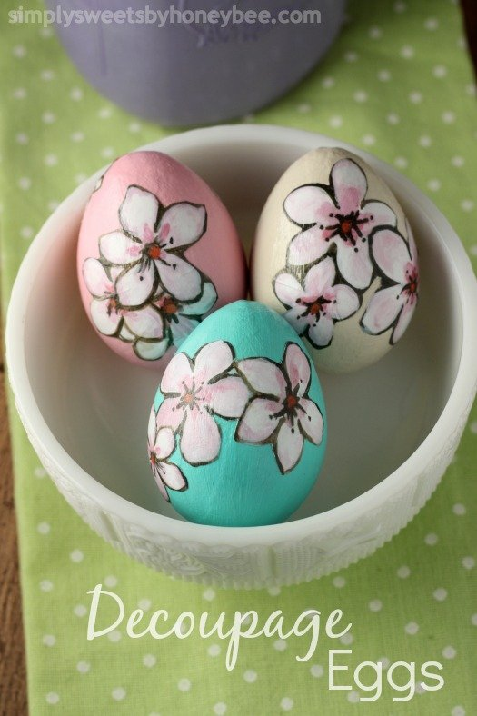 Easter Egg Decorating Ideas | Featured on TodaysCreativeBlog.net