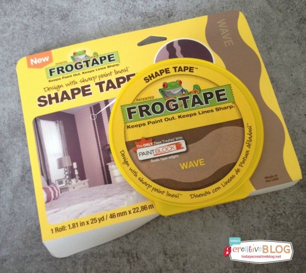 Frogtape Shape Tape Ideas | TodaysCreativeBlog.net