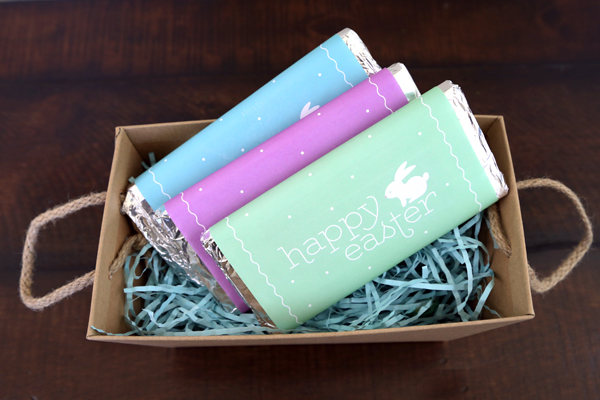 Printable Easter Candy Bar Wrappers | TodaysCreativeBlog.net