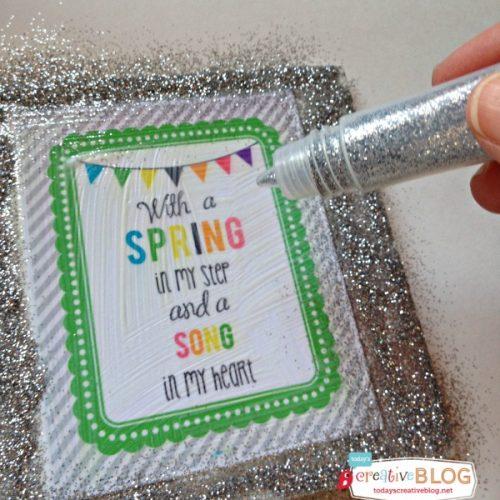 Spring Time Free Printable   TodaysCreativeBlog
