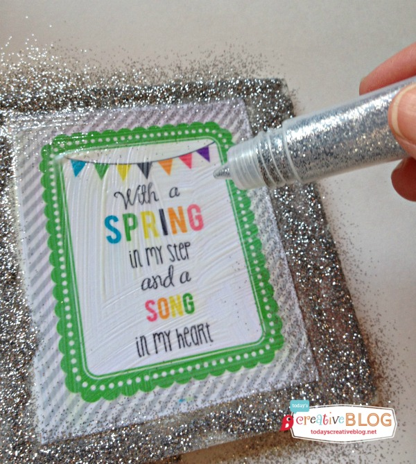 Spring Time Free Printable | TodaysCreativeBlog.net
