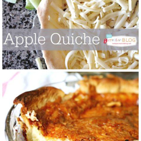Apple Quiche