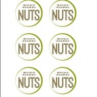 """NUTS"" Free Printable – Teacher Appreciation"