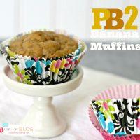 PB2 Banana Muffins
