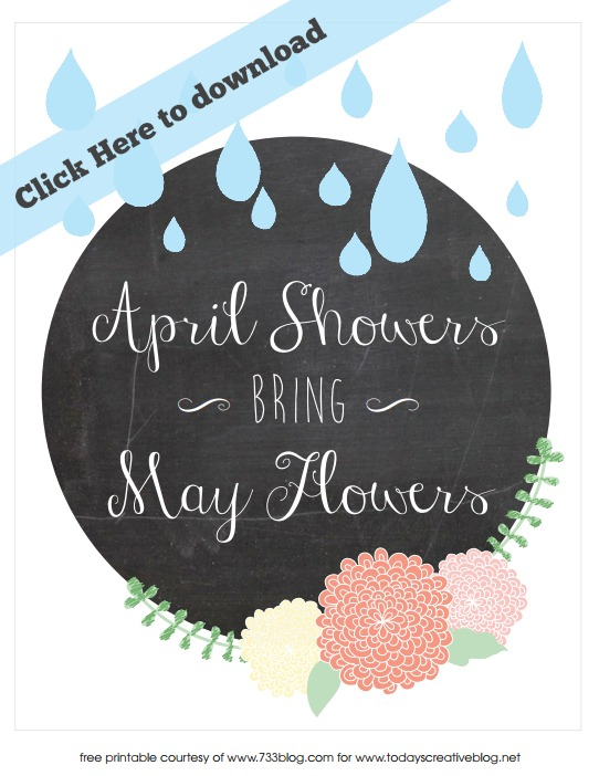 Springtime Printable | TodaysCreativeBlog.net