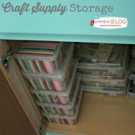 Storing Craft Supplies