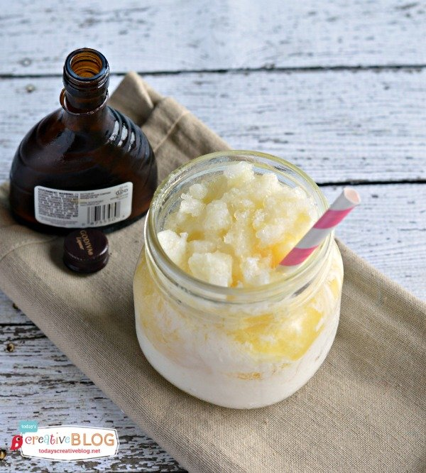 Godiva White Chocolate Pineapple Freeze | TodaysCreativeblog.net