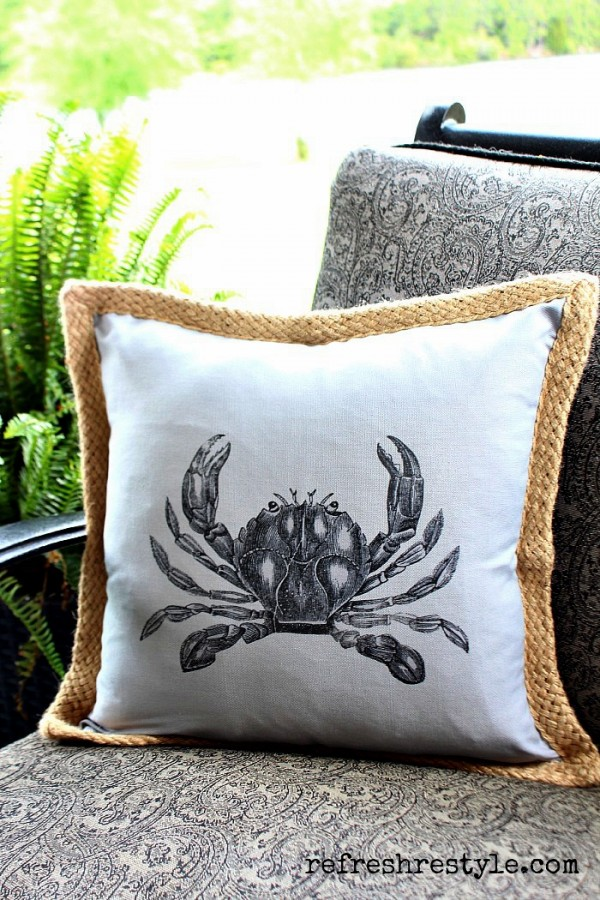 Crab Iron On from ReFresh Restyle