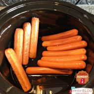 Crockpot Beer Brats & Dogs  {Slow Cooker Sunday}