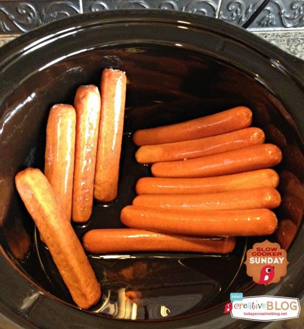 hot dog crock pot recipe