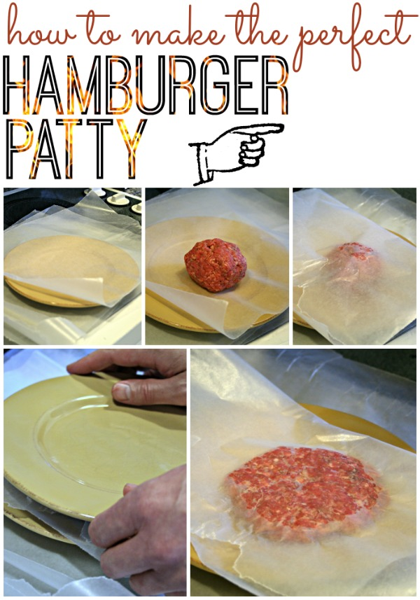 How to Make the Perfect Hamburger Patty
