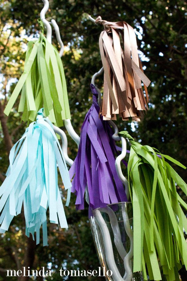 DIY Pom Flair Party Planning Decorating | Melinda Tomasello for Today's Creative Life