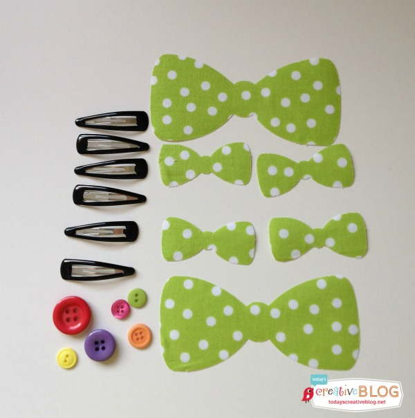 DIY Minnie Mouse Hair Bows | TodaysCreativeBlog.net