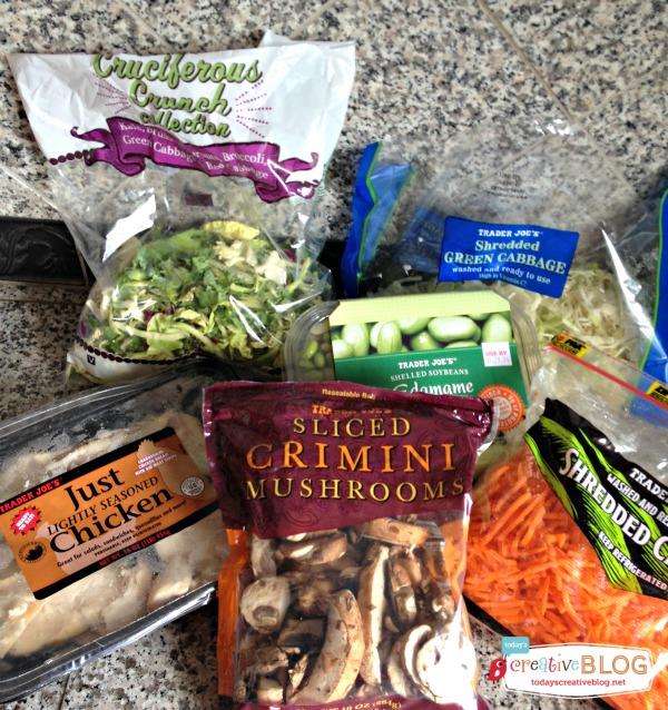 5 Minute Power Greens Stir Fry Salad | TodaysCreativeBlog.net