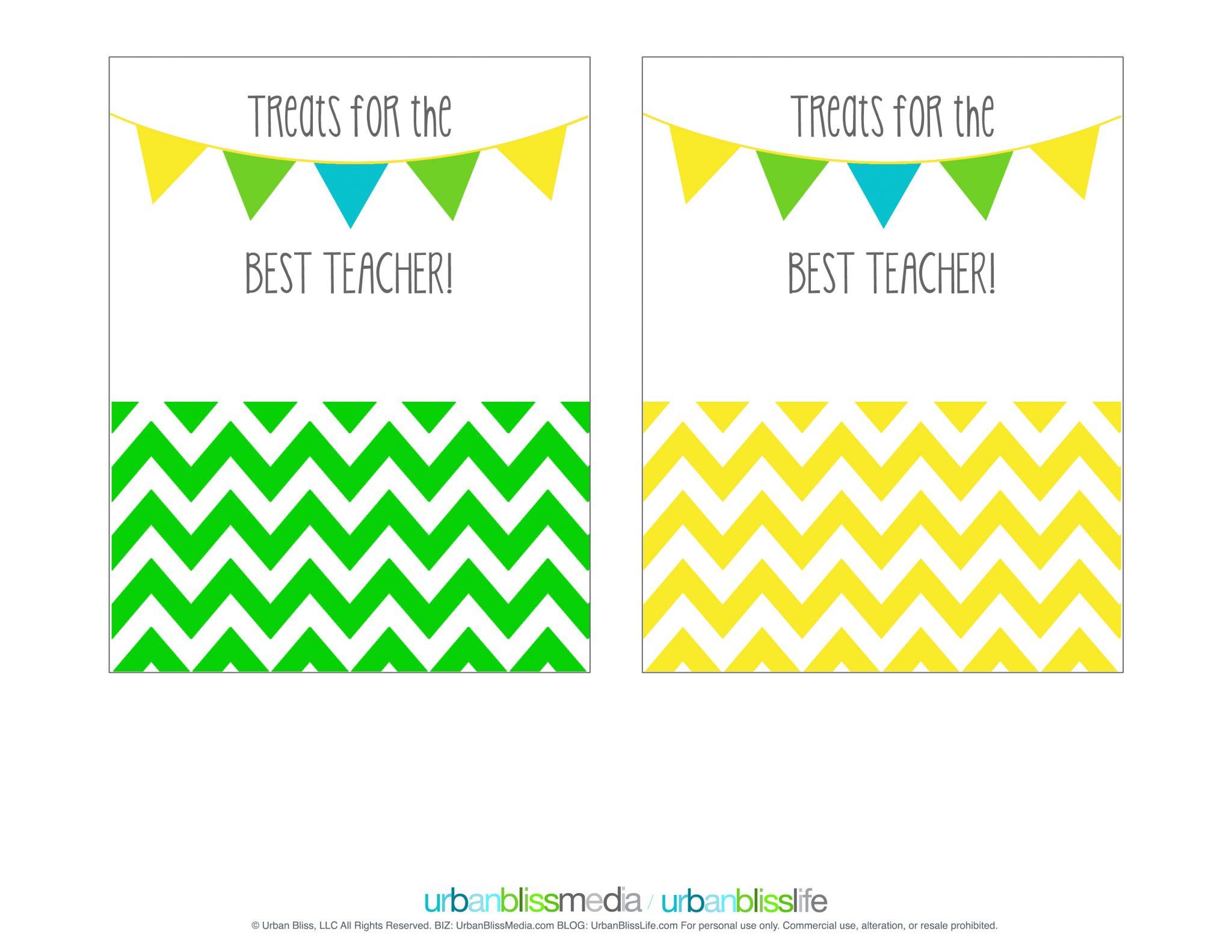 Printable Teacher Appreciation Gift Card Holder | Today's