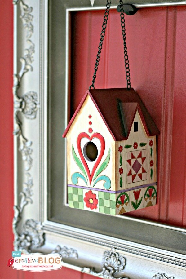 Door Decor for Spring |TodaysCreativeBlog